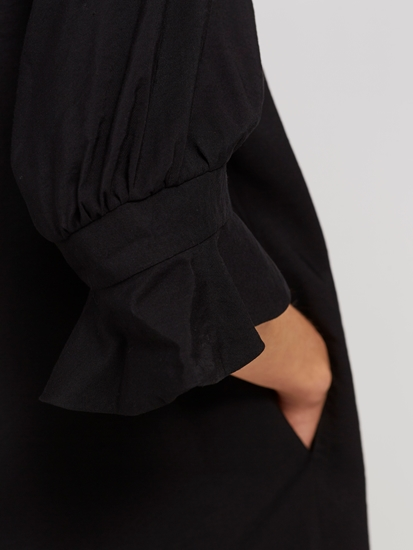 Image sur Robe avec manches à volants SONIA