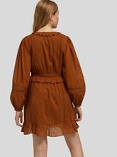 Image sur Robe coton avec volants