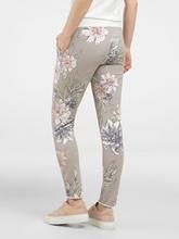 Image sur Pantalon décontracté avec imprimé fleurs