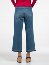 Bild von Culott Jeans mit offenem Saum