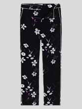 Image sur Pantalon satin imprimé floral MILLA