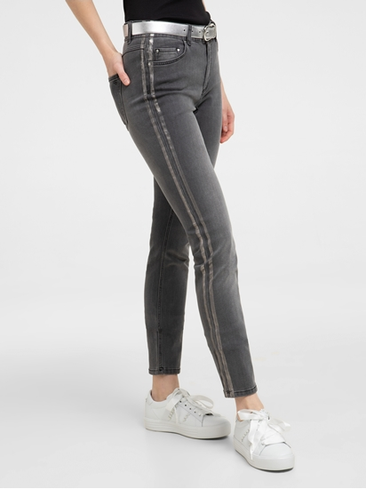Bild von Skinny Jeans mit seitlichen Streifen