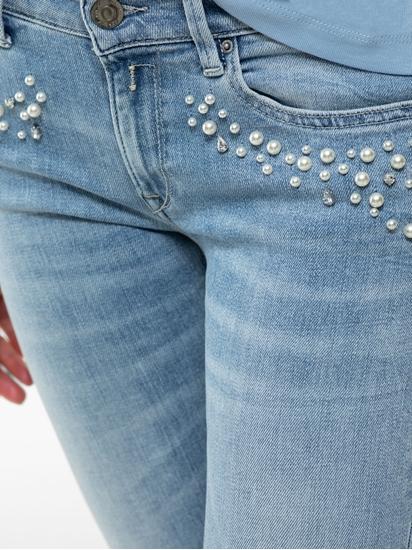 Image sur Jean Skinny Fit avec perles LUZ