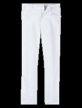 Bild von Verkürzte Bootcut Jeans mit offenem Saum