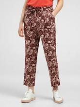 Image sur Pantalon imprimé floral