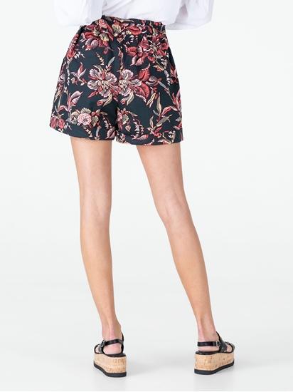 Bild von Shorts mit Blumen-Print