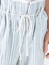Bild von Hose mit Streifen und Kordelzug