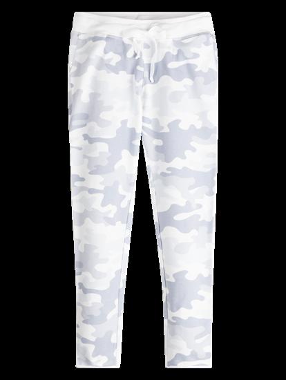 Image sur Pantalons sweat imprimé camouflage