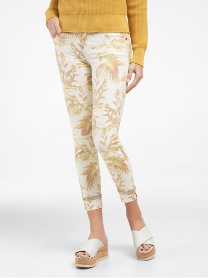 Bild von Jeans im Slim Fit mit Print und Pailletten