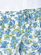 Bild von Hose mit Blumen-Print