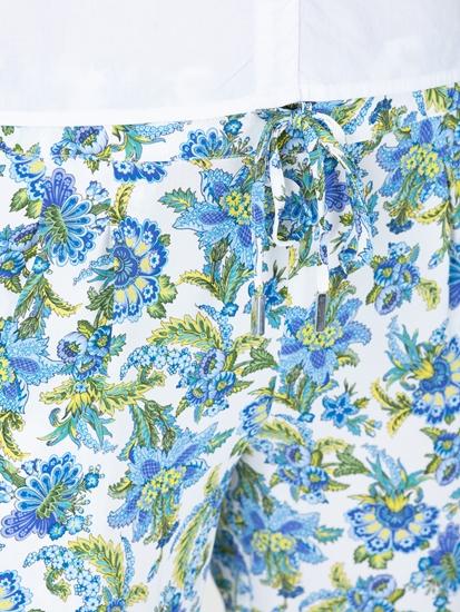 Image sur Pantalon imprimé fleurs