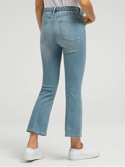 Bild von Jeans mit geflochtenem Bund