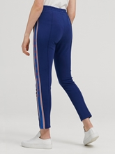 Image sur Pantalon sweat avec rayures latérales lurex