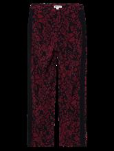 Image sur Pantalon imprimé à rayures latérales