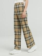 Image sur Pantalon business à carreaux