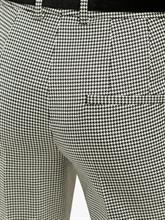 Bild von Businesshose mit Hahnentritt-Muster