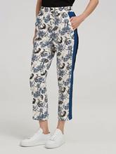Image sur Pantalon Slim Fit imprimé
