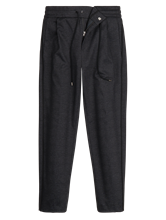 Image sur Pantalon à rayures latérales et carreaux LEVEL