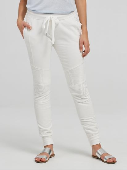 Image sur Pantalon sweat mélange de matières