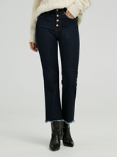 Bild von Jeans mit Cropped Boot Cut