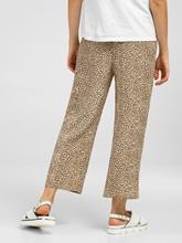 Image sur Jupe culotte avec imprimé léopard