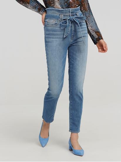 Bild von Jeans im Slim Fit mit Bindegürtel