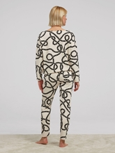 Image sur Pantalon loungewear imprimé