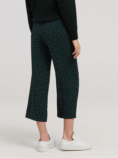 Image sur Pantalon imprimé et ceinture à nouer
