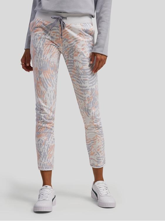 Image sur Pantalon de jogging  imprimé Slim Fit