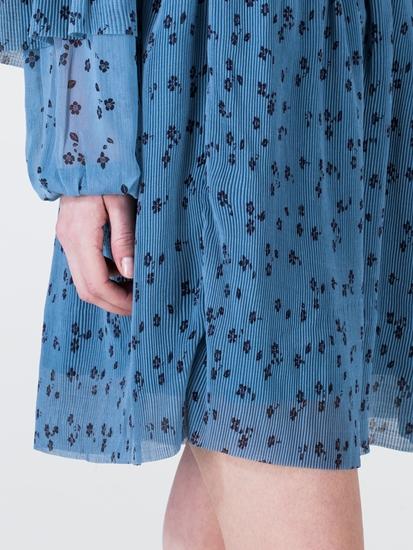 Image sur Jupe plissée imprimé fleurs