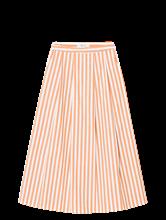 Image sur Jupe à rayures et plis