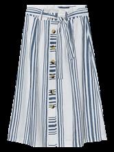 Image sur Jupe en lin à rayures
