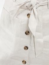 Image sur Jupe lin à boutons