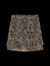 Bild von Jupe mit Zebra-Print und Volant