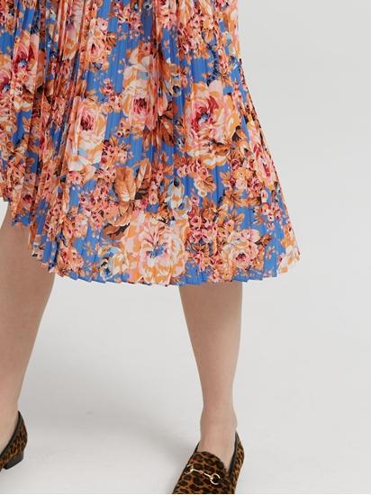 Image sur Jupe plissée et imprimée
