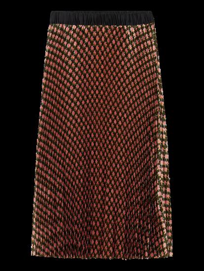Image sur Jupe imprimée et plissée