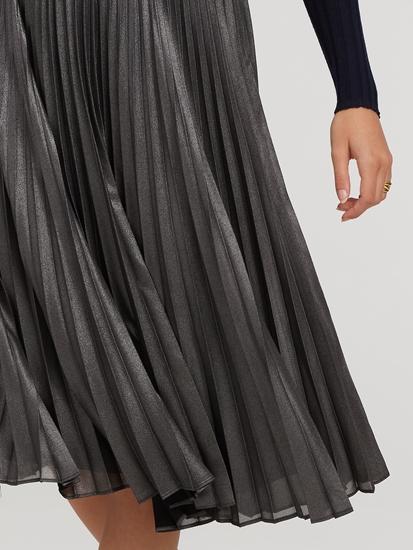 Image sur Jupe avec plissé JULIETTE