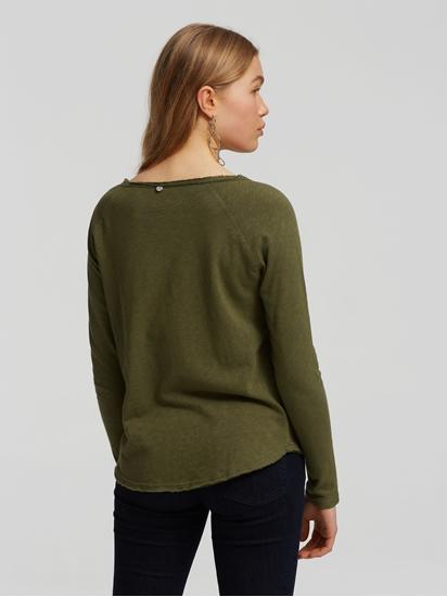Bild von Shirt mit offenen Säumen