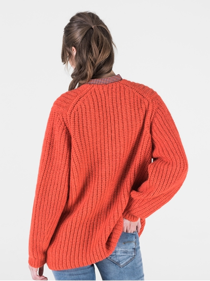Image sur Pullover grosses mailles oversized