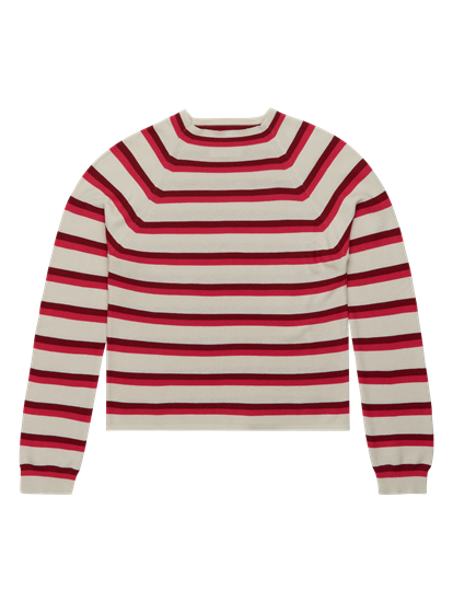 Image sur Pullover maille à rayures ZANDE