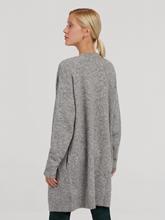 Bild von Lange Strickjacke aus Alpaka-Wolle