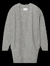 Image sur Cardigan long laine alpaca