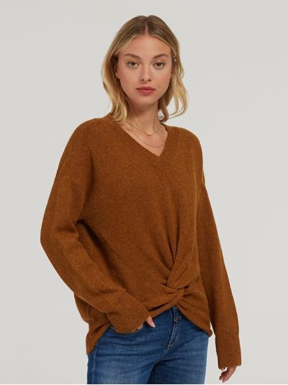 Image sur Pullover oversized et noeuds