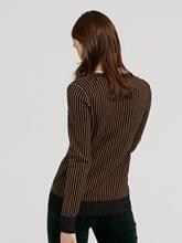 Image sur Pullover à rayures et lurex