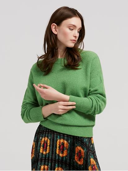 Bild von Oversized Pullover aus Wolle