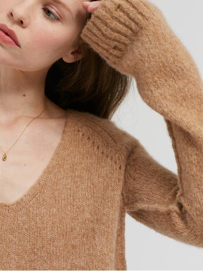 Image sur Pullover motif à trous
