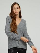 Bild von Oversized Pullover in melierter Optik LINNA