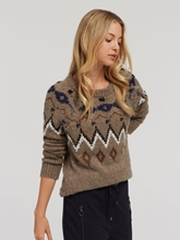 Image sur Pullover maille motif maille MIRA
