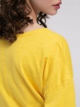 Image sur Shirt oversized fil flammé