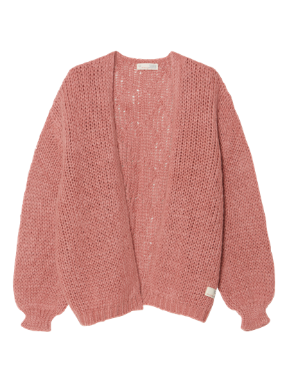 Image sur Cardigan grosses mailles oversized